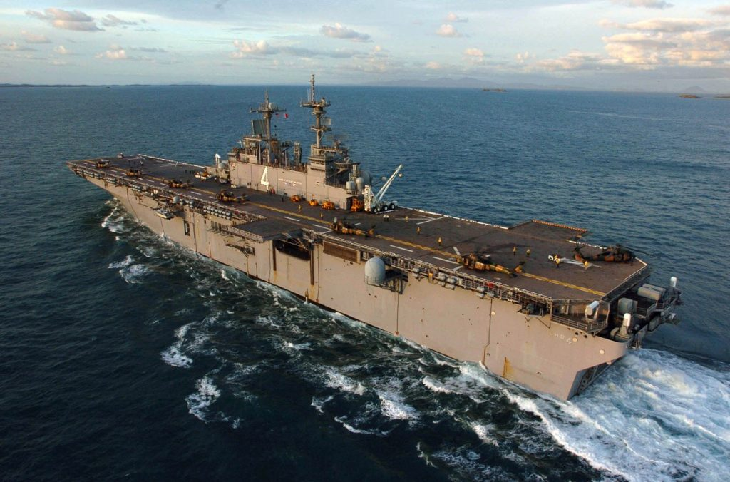 US Claims Its USS Boxer Downed Iranian Drone Over Strait Of Hormuz