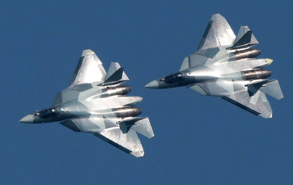 Russia's Sukhoi Launches Serial Production Of Su-57 Fifth-Generation Fighter Jet