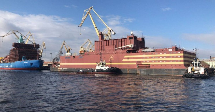 Russia Allows Operation Of World's First Floating Nuclear Power Plant - Akademik Lomonosov Powership
