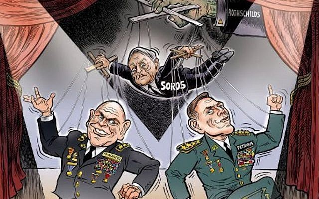 Cartoonist's Invitation To The White House Recalled After Cartoon Featuring Rothschild And Soros