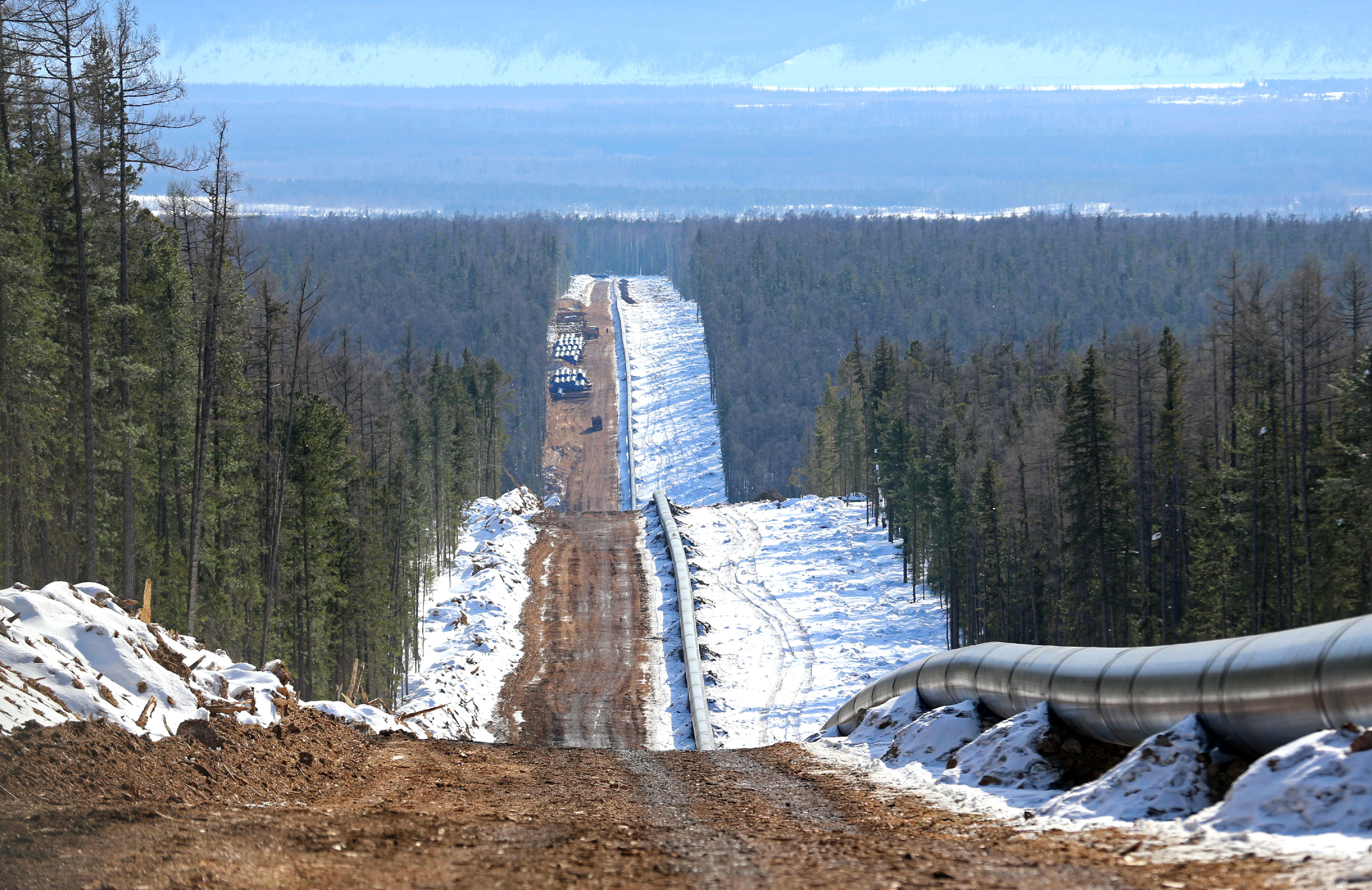 Russia's Power Of Siberia Pipeline May Slow Down LNG Supply To China