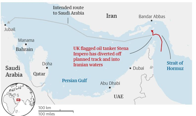 A Week Of Provocations: New Drone And Tanker Incidents In Persian Gulf