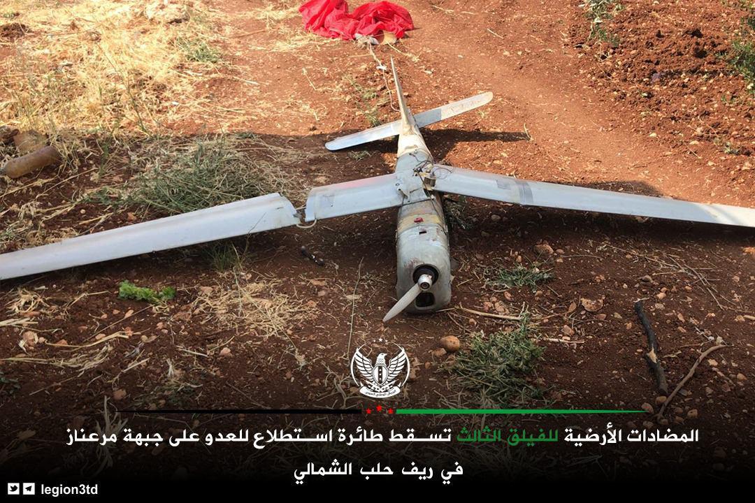 Türk Destekli Militanlar Kuzey Halep Üzerine Rus Uçağını Vurdu