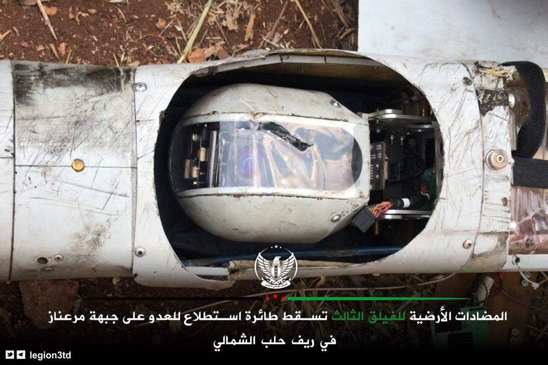 Turkish-Backed Militants Shoot Down Russian Drone Over Northern Aleppo (Photos)