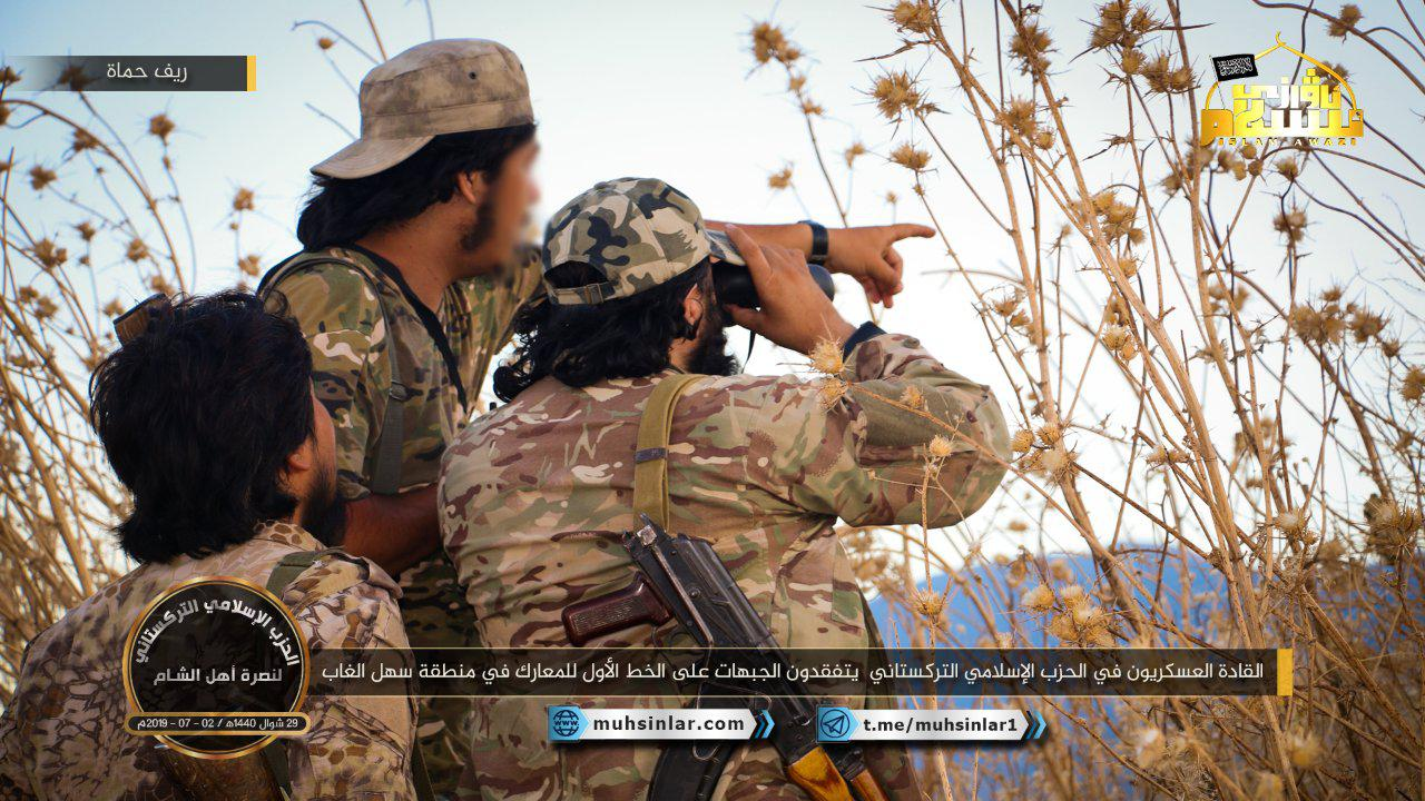 """Militant Field Commander Inspects Frontlines Next To Turkish Observation Post In """"De-Escalation Zone"""""""