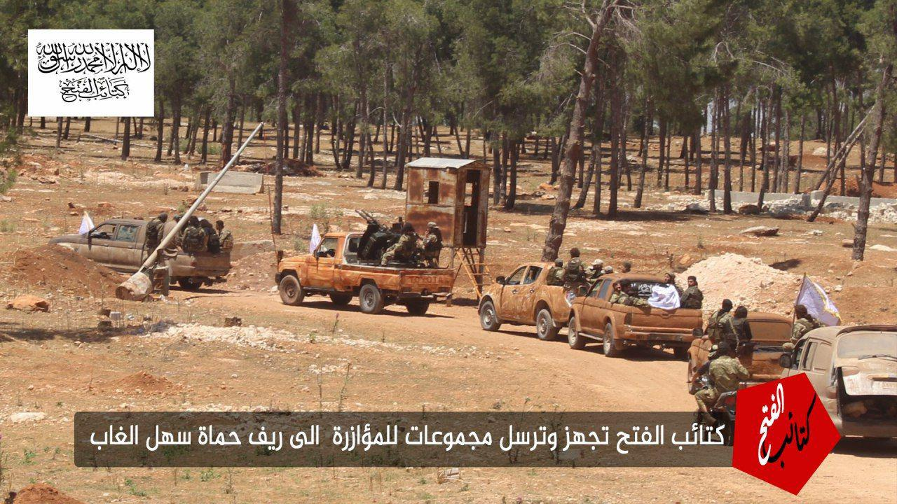 New Al-Qaeda-Affiliated Group Deploys Reinforcements In Northern Hama (Photos)