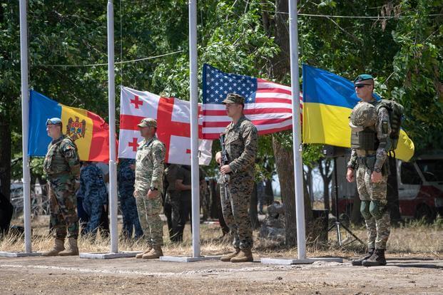 Sea Breeze 2019 NATO Military Exercise Began In The Black Sea