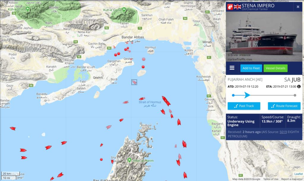 UK Media Found 'Russian Trace' In Recent Tanker Seizure By Iran