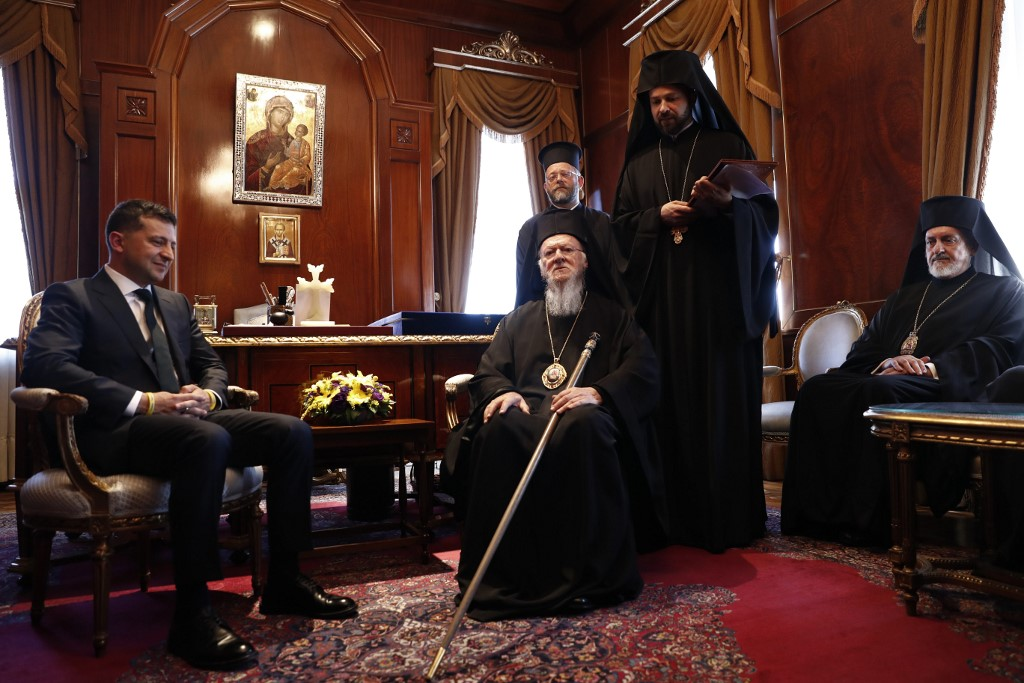Zelensky Refused To Sign Joint Statement With Ecumenical Patriarch Bartholomew In Possible Sign Of Common Sense