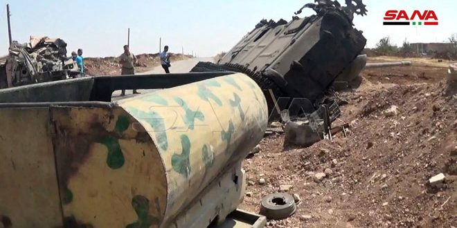Syrian Army Launches Decisive Push To Capture Chunk Of M5 Highway North Of Khan Shaykhun