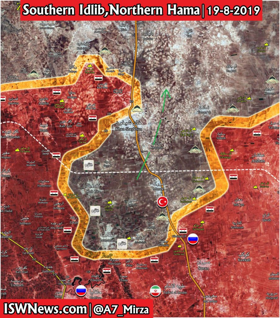 Militants Are Withdrawing From Towns In Northern Hama Fearing Inevitable Fall Of Khan Shaykhun: Reports