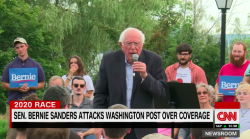 "Caitlin Johnstone: ""Mass Media's Phony Freakout Over Bernie's WaPo Criticism Is Backfiring"""