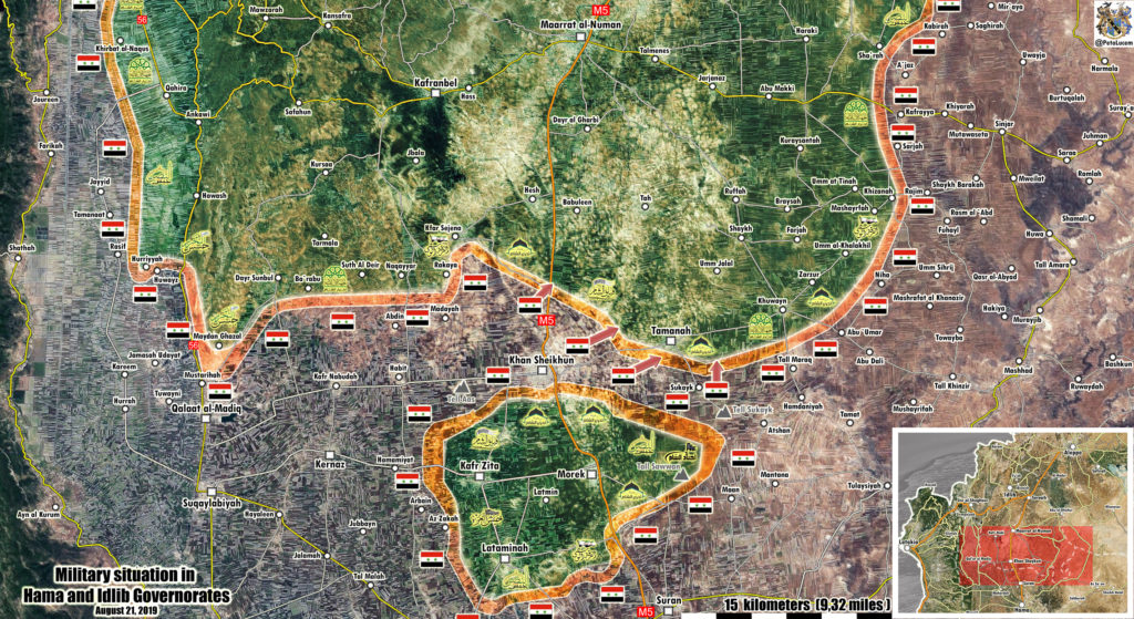 Syrian Military Opened Humanitarian Corridor For Civilians Leaving Northern Hama Pocket