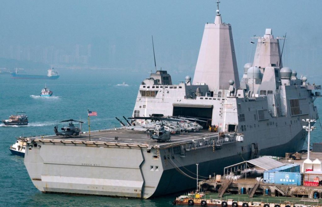 Beijing Blocks Another US Navy Request For Port Call As Tensions Rise