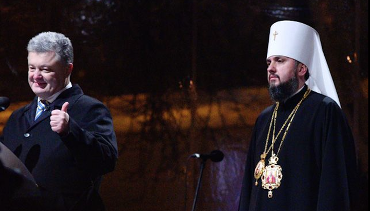 Poroshenko Uses Newly-Created 'Independent Orthodox Church' In Political Game Against Zelensky: Kiev Patriarchate
