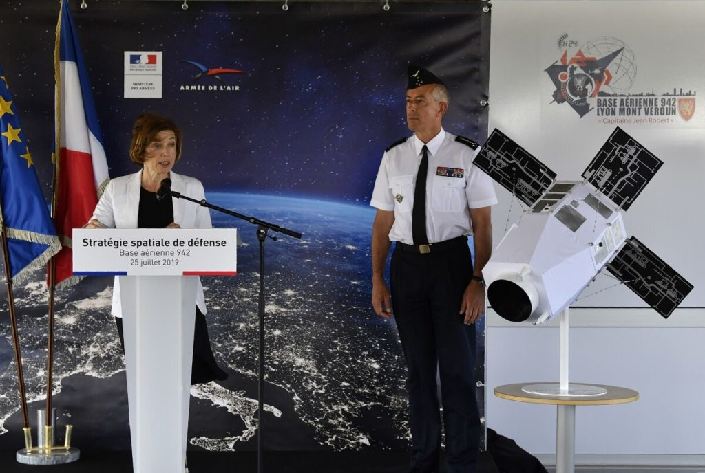 France Joins United States In Its Push Towards Militarization Of Space