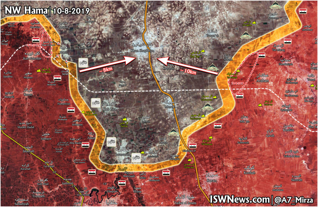 Government Troops Liberate Two More Villages From Militants In Northern Hama (Map)