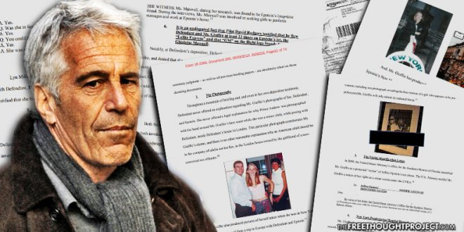 """Philip M. Giraldi: """"Jeffrey Epstein RIP: But Many More Questions Remain to be Answered"""""""