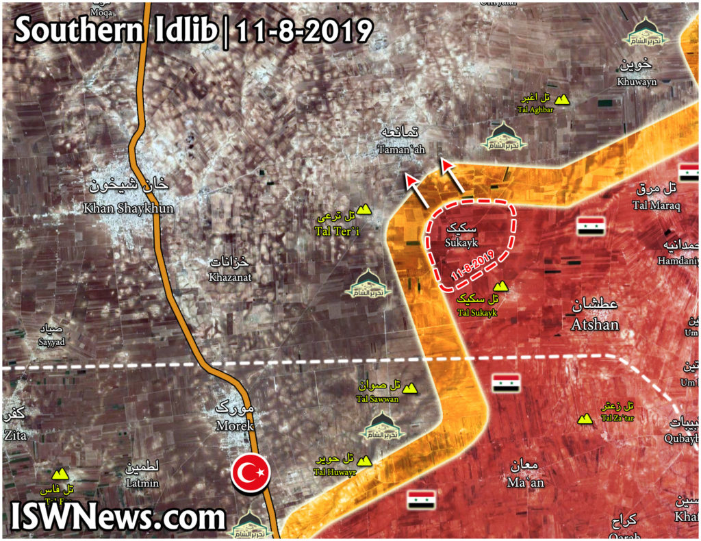 Government Forces Liberate Sukayk Village From Militants (Map)