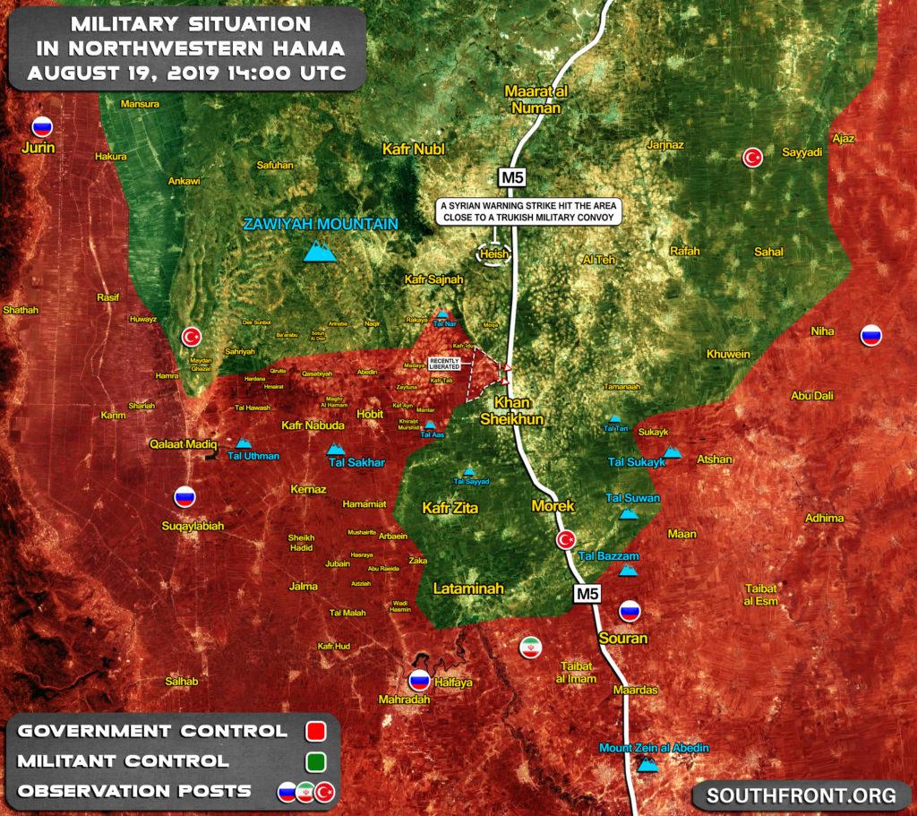 Turecko 'Odsudzuje' Sýrskeho Štrajk Na Jeho Konvoj V Väčšiu Idlib, Tvrdí 3 Civilistov Bolo Zabitých