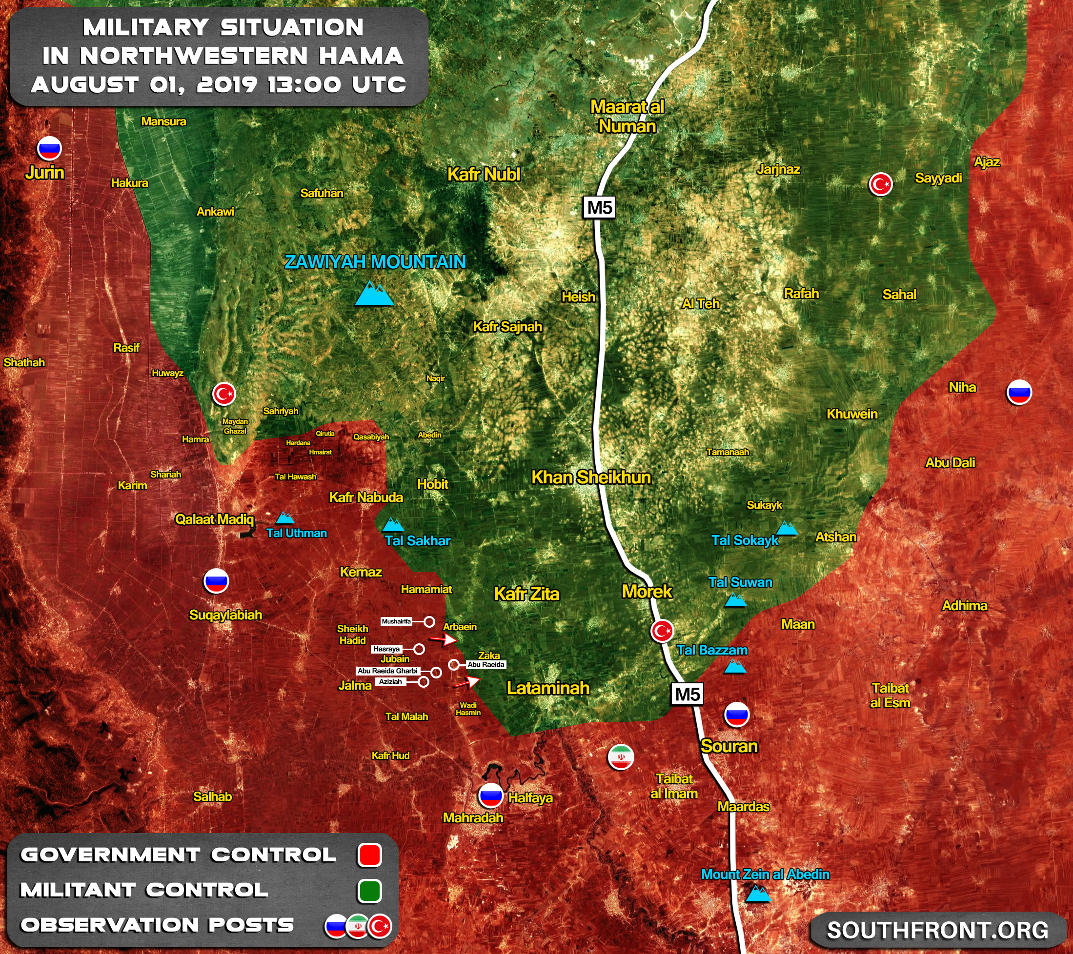 Syrian Army Swamps Militants' Defenses In Northern Hama, Liberates Multiple Villages (Map)