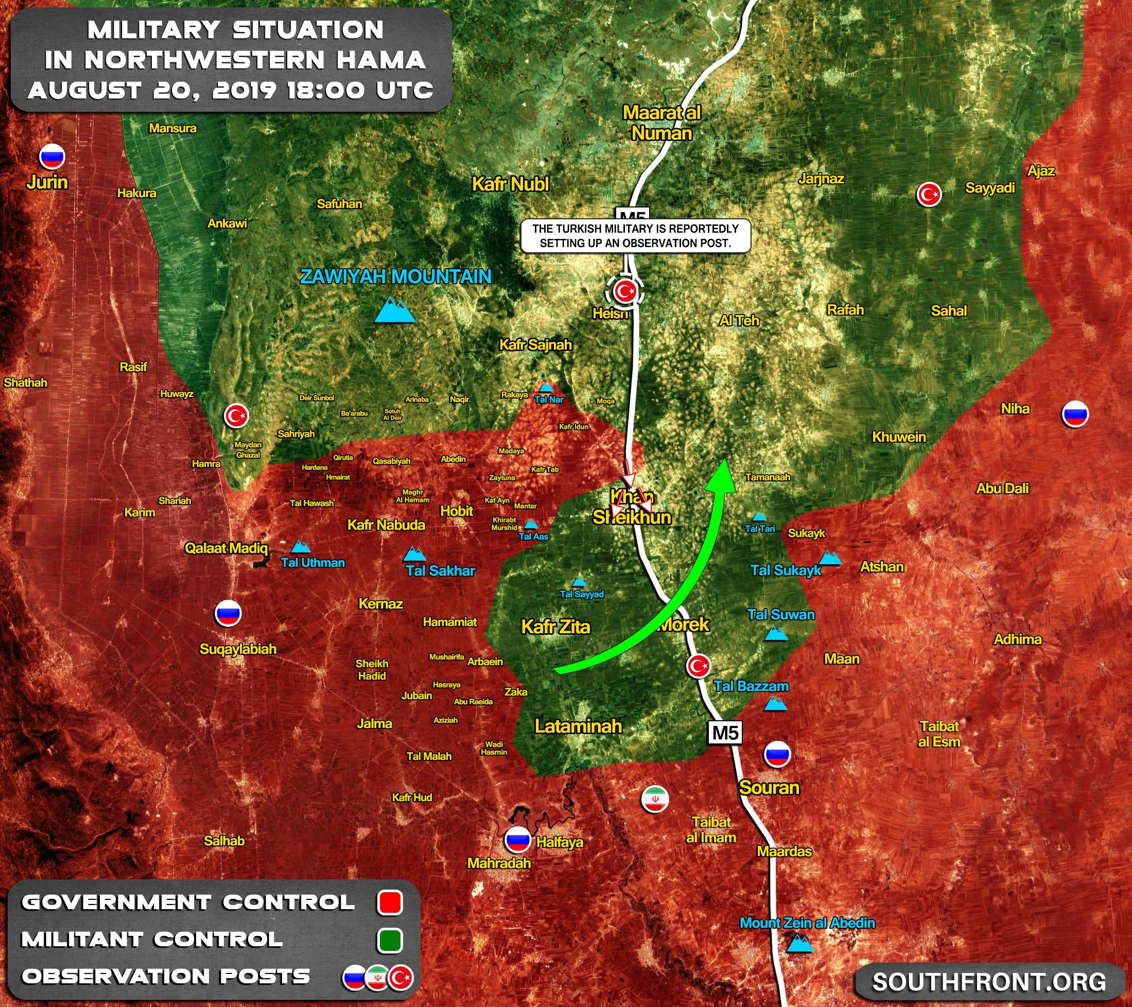 Toi hau thu cua Syria cho Tho Nhi Ky tren Idlib