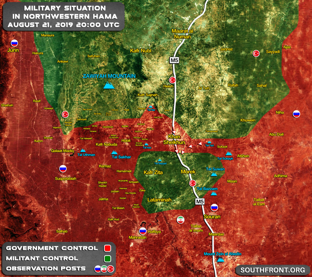 Turkey Claims It Is Not Going To Withdraw Observation Post From Area South Of Khan Shaykhun