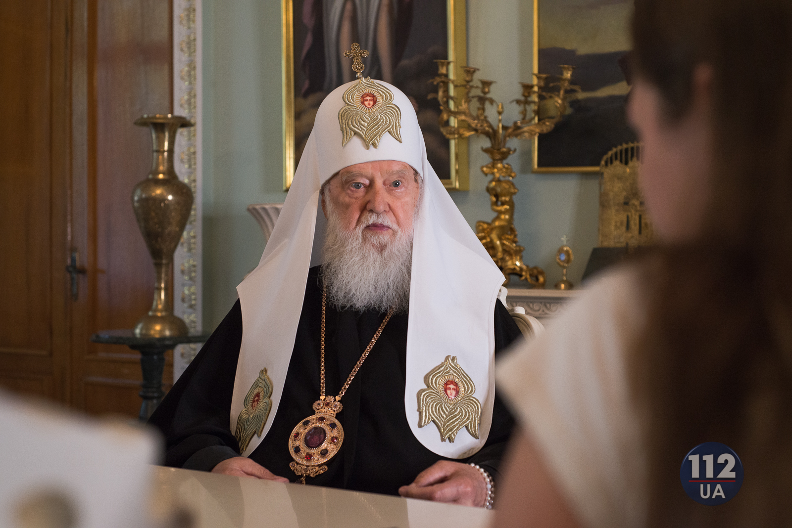 Kiev Patriarchate Head Claims Concsantinople Seeks To Consolidate Control Over Ukrainian Church