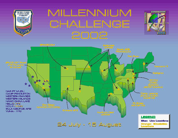 "Millennium Challenge 2002 or ""That Time A Retired Marine General and His Fictional Iran Defeated the US Armed Forces"""