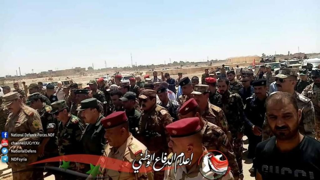 In Photos: Syrian And Iraqi Forces Observe Al-Bukamal Border Crossing Ahead Of Its Reopening