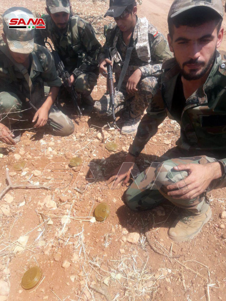 In Photos: Destroyed Militant Equipment Near Tall Tari In Southern Idlib