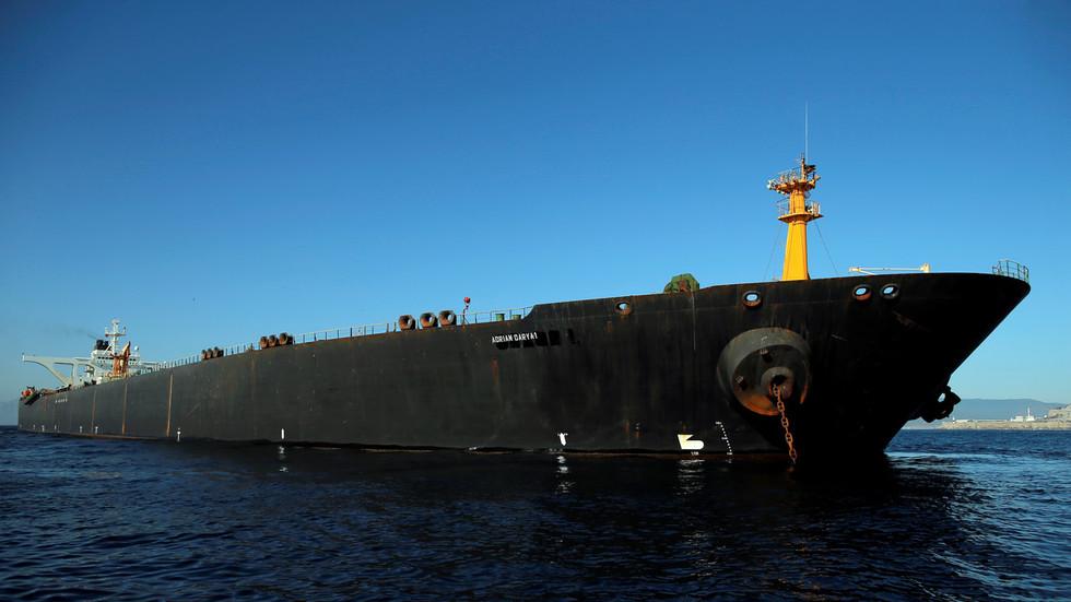 Seized Iranian Supertanker Departs Gibraltar, After US Arrest Warrant Was Rejected
