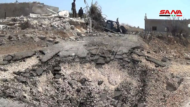 In Video: Militants' Military Equipment Destroyed By Syrian Army In Northwestern Hama