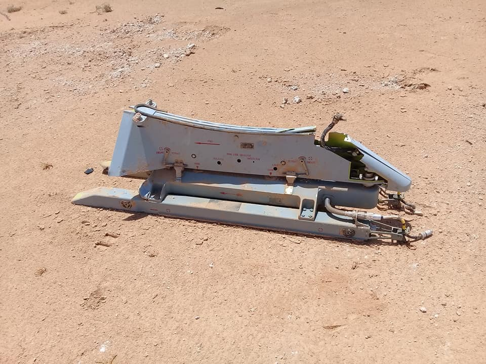 In Photos: GNA Shoots Down Wing Loong II Combat Drone Over Misrata