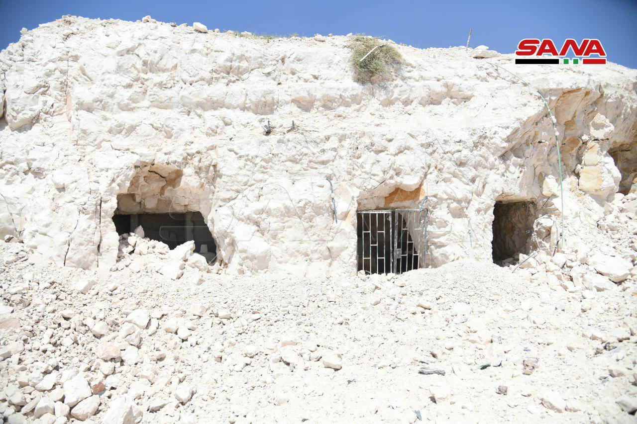 Syrian Army Uncovers Large Underground Headquarters Near Khan Shaykhun (Video, Photos)