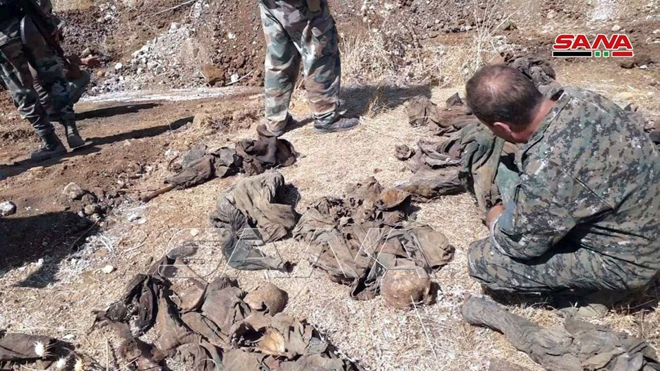 Syrian Army Uncovers Mass Grave In Newly-Liberated Town (Photos)
