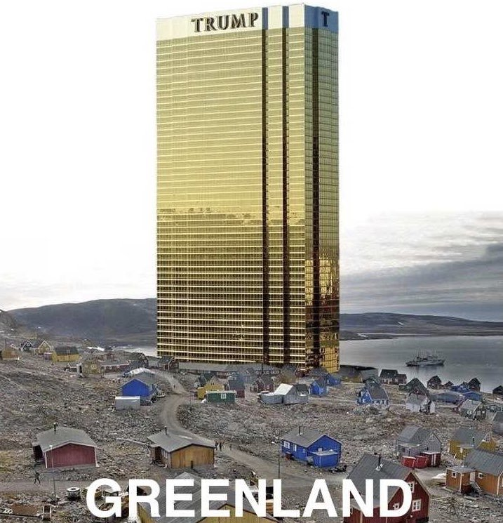 Trump Promises No Tower if US Purchases Greenland