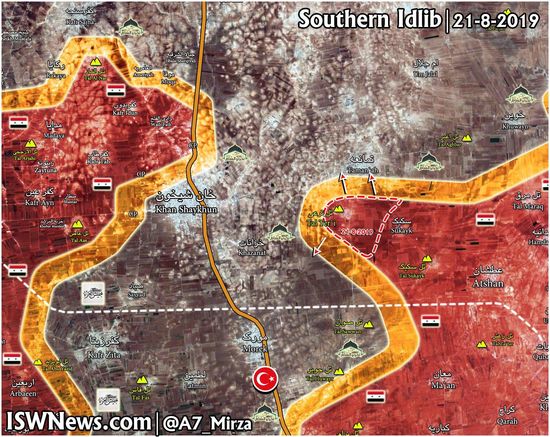 Sýrska Armáda Zachytáva Kľúčové Hill Sprísnenie Jeho Priľnavosť Na Severnom Hama