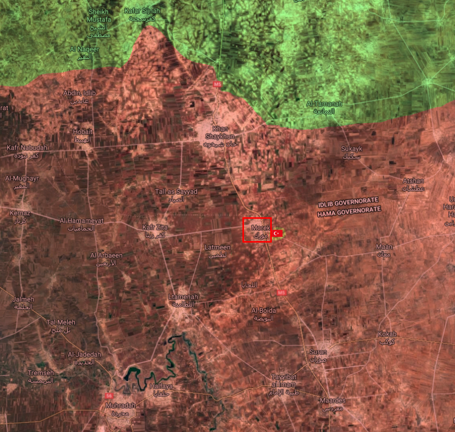 Syrian Army Deploys Troops, Battle Tanks Meters Away From Turkish Post After Capturing Murak (Video, Map)