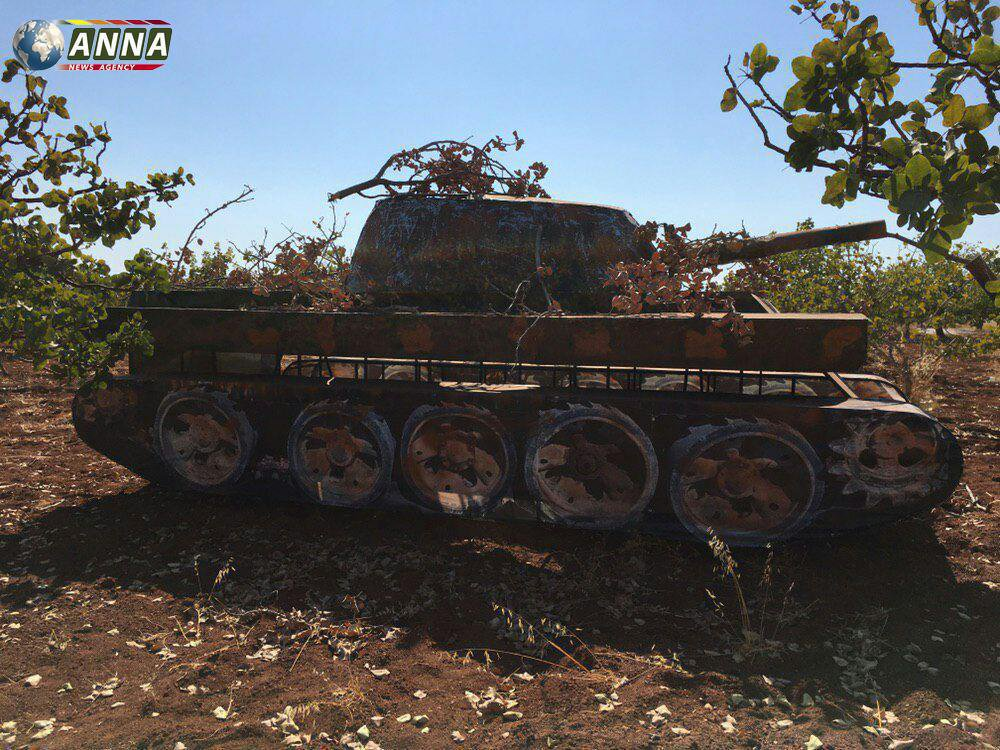 Militants Used Tank Decoys To Trick Syrian, Russian Warplanes (Photos)