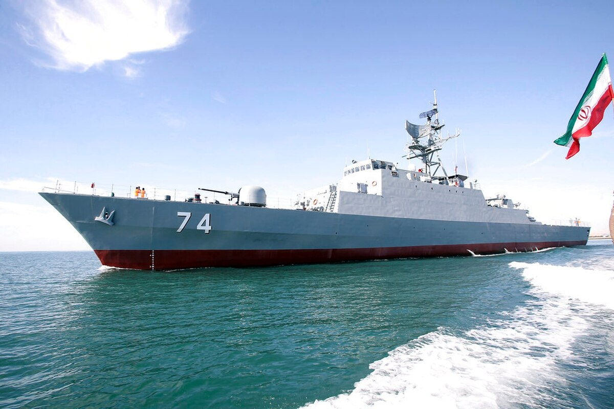Iran Deploys Its Most-Advanced Indigenous Destroyer Sahand To Gulf of Aden