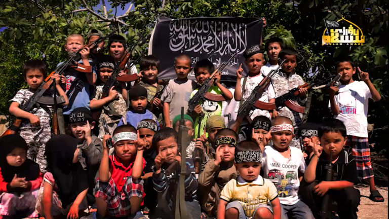 """Meet Idlib's """"Moderate Opposition"""": Turkistan Islamic Party And Its Children Jihadist Camps"""