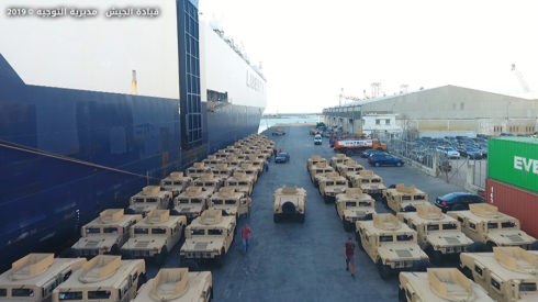 Lebanese Army Receives 150 Humvee Vehicles From U.S. (Photos)