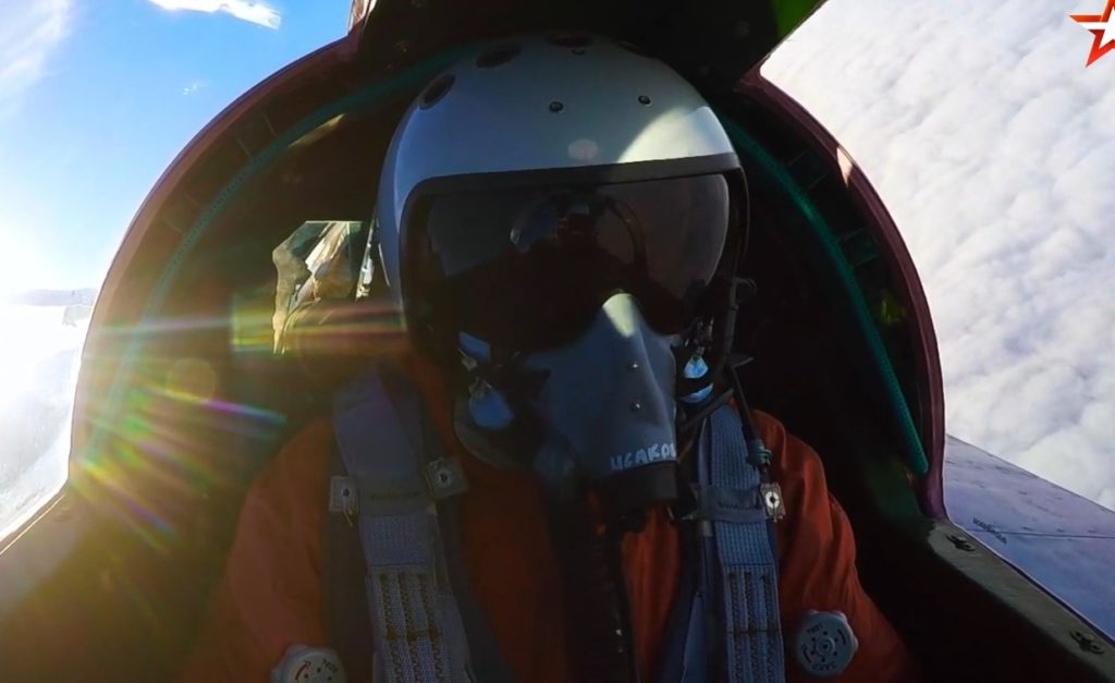 Drills In Stratosphere: Russian MiG-31 Intercept Potential Intruder