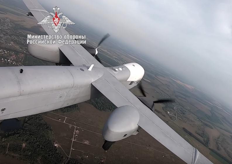 Russian Military Released First Ever Video Of Advanced Long-Range Reconnaissance UAV 'Altuius-U'
