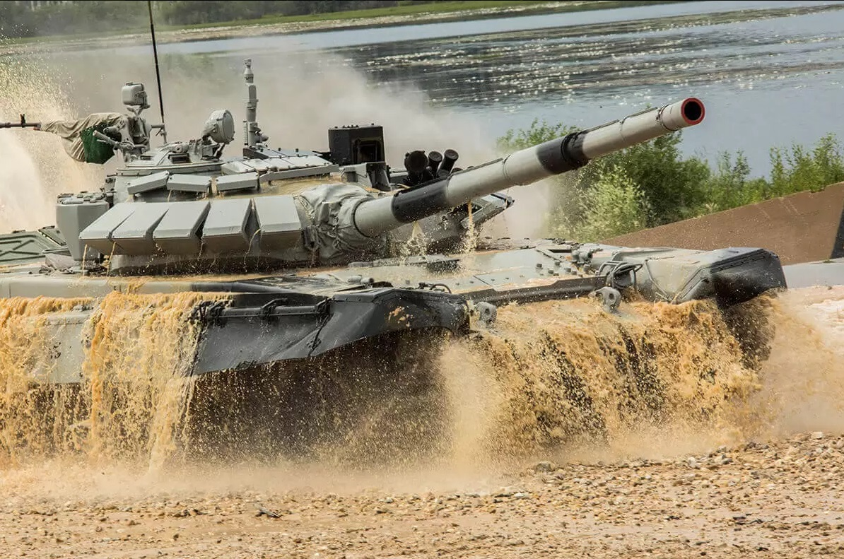 Tank Biathlon Competition, Featuring Tank Ballet And Races Between 25 Countries Ongoing In Russia