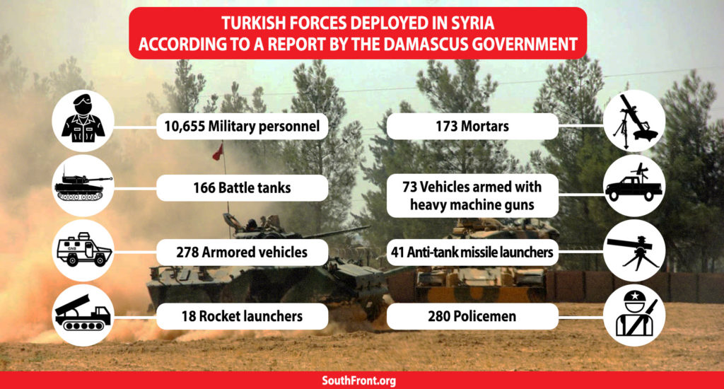 In Numbers: Turkish Troops And Military Equipment Deployed In Syria