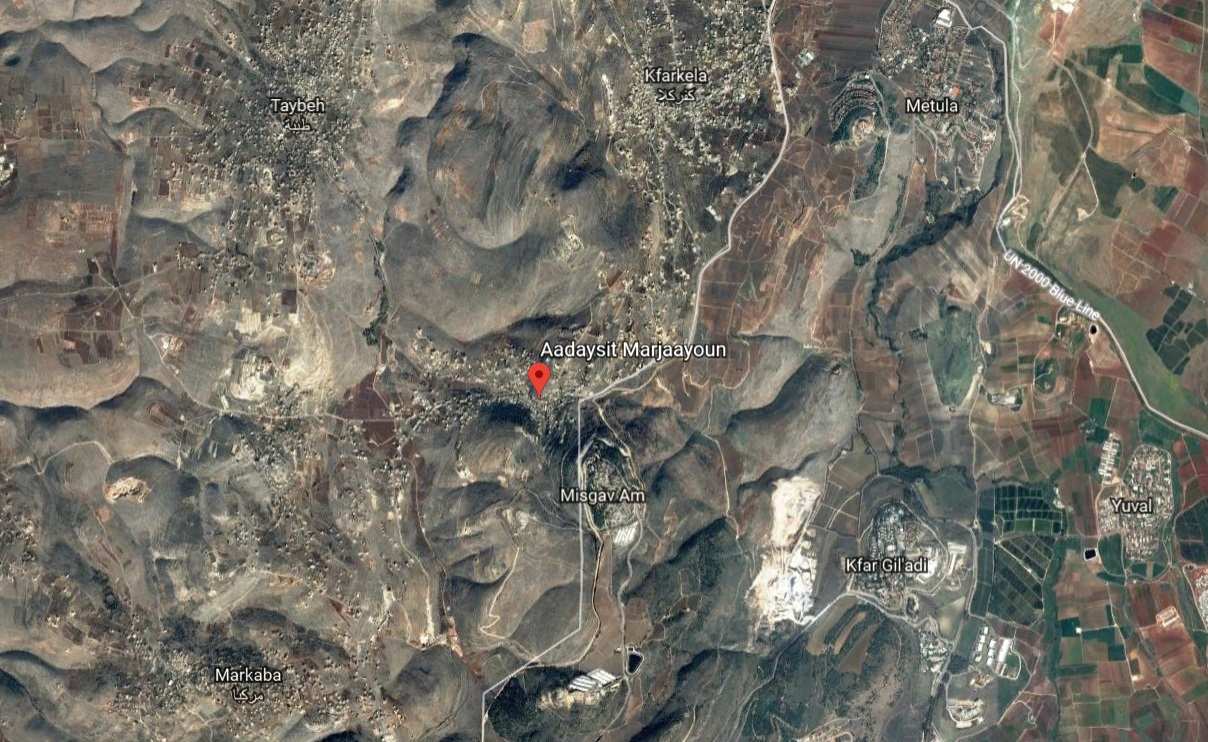 Lebanese Army Opens Fire At Israeli Drones Near Separation Line
