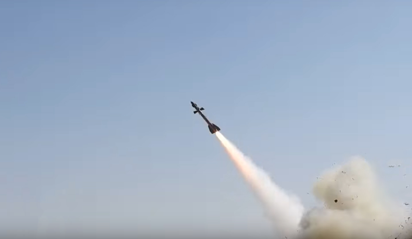 In Video: Houthis Shot Down Saudi Combat Drone Over Ma'rib With 'New Missile'