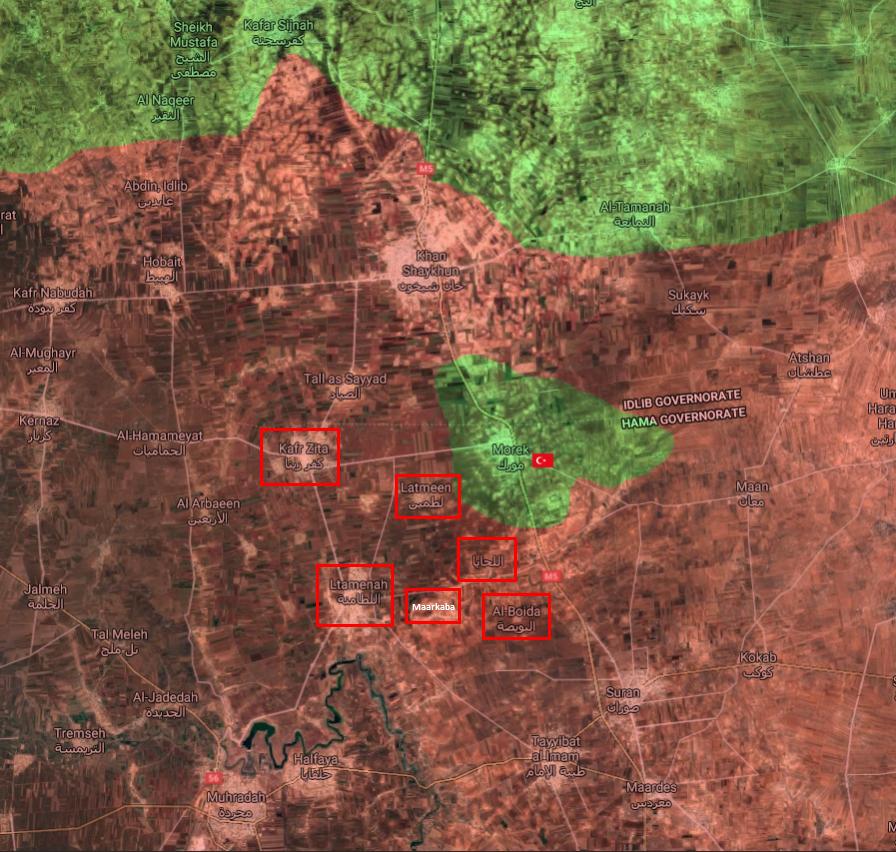 Sýrska Armáda Sa Uvoľňuje Kľúčových Miest V Blitz Vopred V Severnom Hama